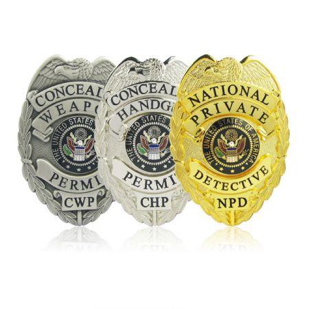 Enforcement Badges - Custom Made Enforcement Badges