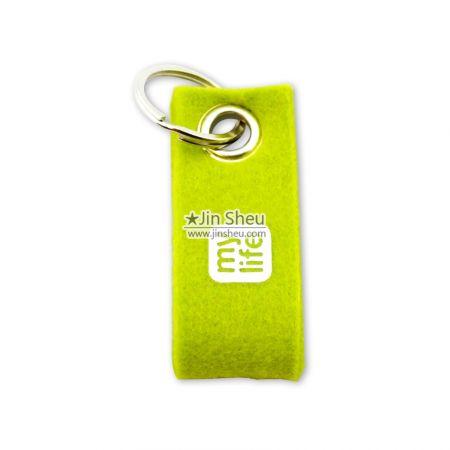 Felt Key Tag Straps - Cheap felt keyring