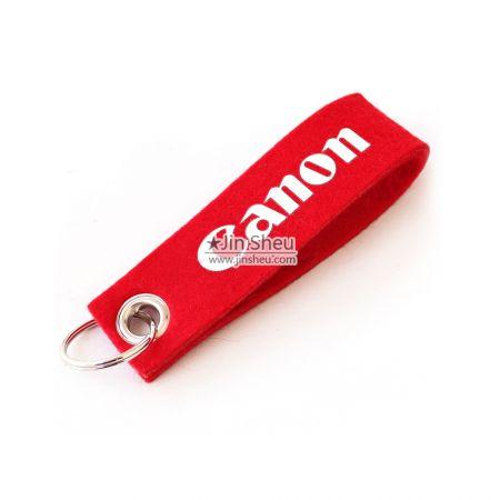 Personalized Felt Keyrings - Souvenir gift felt keychain