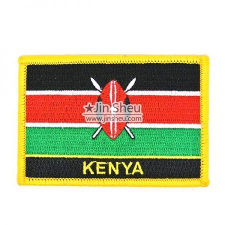 Kenya Flag Patches - Kenya Flag Patches