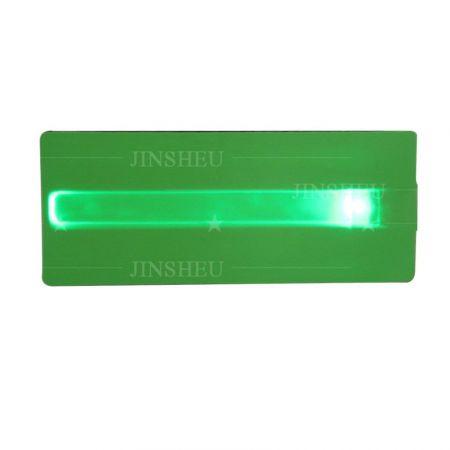 Green slap bottler cooler