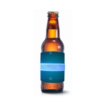 neoprene slap LED bottle cooler