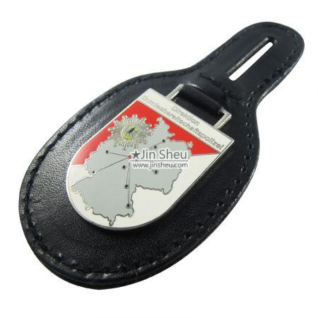 Custom Made Leather Badge - Custom Leather Badges