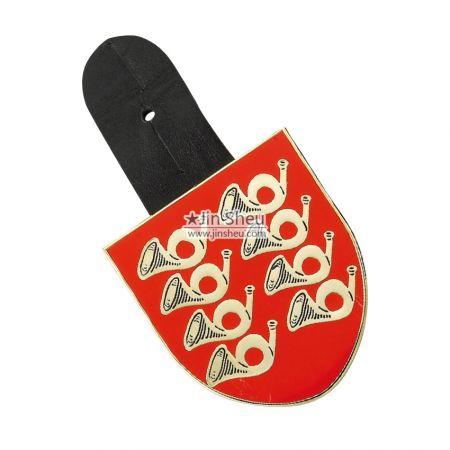 Custom Made Leather Badges - Custom Made Leather Badges