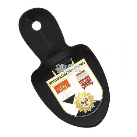 Leather Security Badge Fobs - Leather Badges Supplier