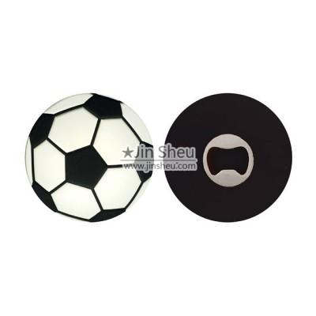 Soccer Ball Bottle Opener - Soccer Ball Bottle Opener