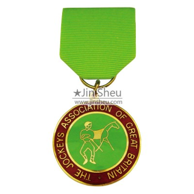 custom ribbon medal