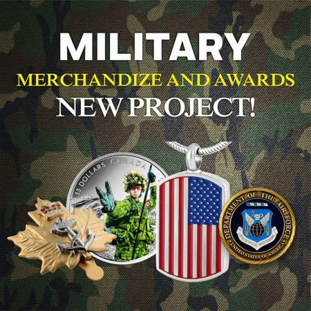 Military Merchandise - Custom made Military Memorabilia
