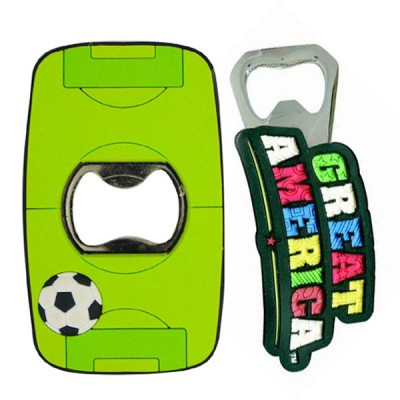 Bottle Openers - Custom Made PVC Bottle Openers