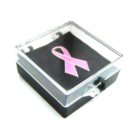 Plastic Boxes - Plastic Lapel Pin Boxes