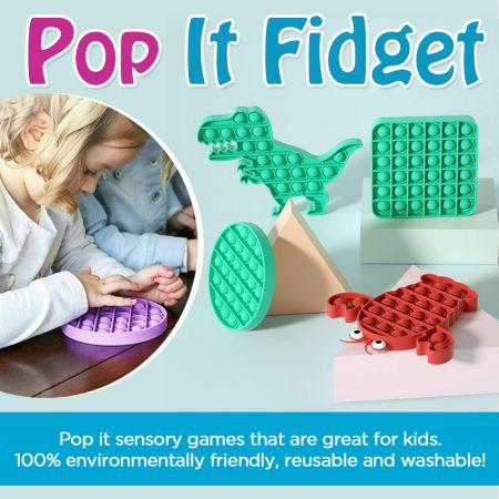 Why Tactile Sensuous games are so popular? - popping sensory toy