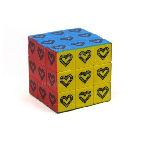3.5cm Custom Magic Cube - Custom 3.5cm Magic Cube Key Tags