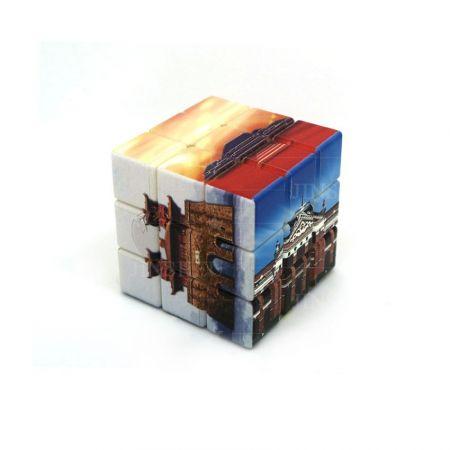 UV Digital Printing Puzzle Cube - Custom Logo UV Digital Printing 5.7cm Puzzle Cubes