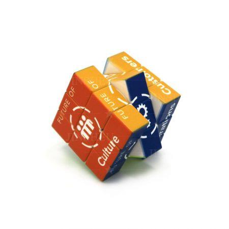 Custom logo Rubik's Cube