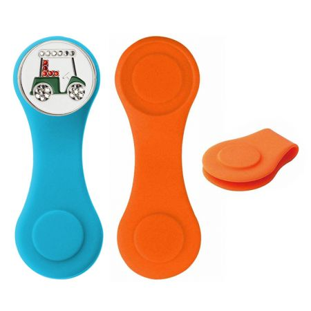 Magnetic Silicone Golf Hat Clips - Silicone Golf Marker Hat Clip