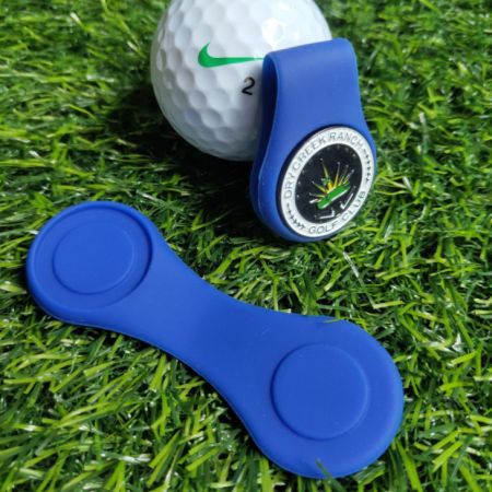 colorful silicone ball marker hat clips