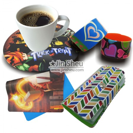 Silicone Products with In-mold Printing - Colourful In-mold Transfer Printing Silicone Products