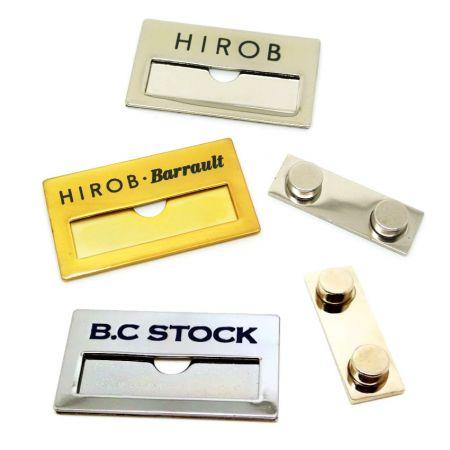 Steel Name Badges - Steel Name Badges