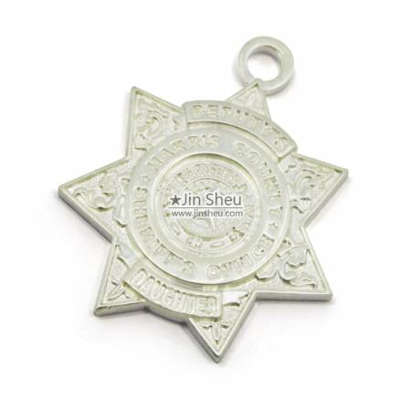 S925 Star Shape Charms