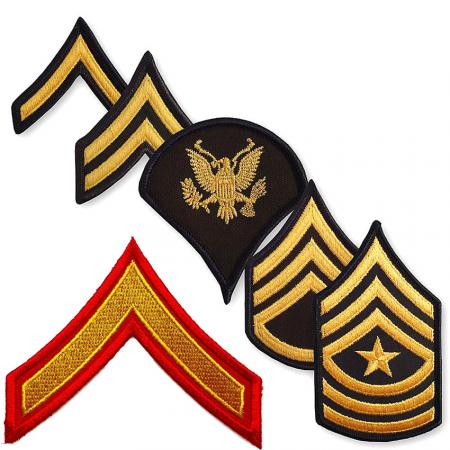 Army Rank Chevrons - Custom Rank Chevrons