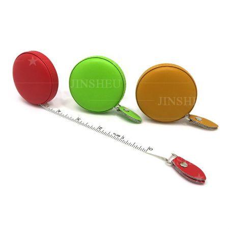 Leather Retractable Tape Measure - custom logo tape measure