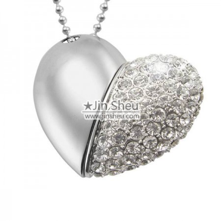 Diamond Heart USB - Lovely Diamond Heart USB