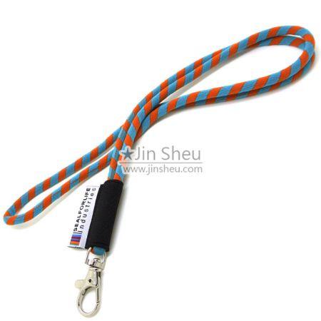 High elastic cord lanyard - High elastic cord lanyard