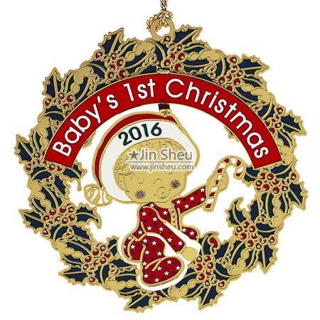 Custom Hanging Ornament - Personalised Christmas tree decorations