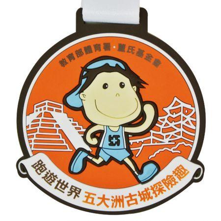 Custom PVC medallions - Our Rubber medallions Success Case