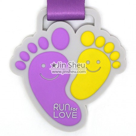 PVC Race Medals - Custom PVC medallions success cases in Taiwan