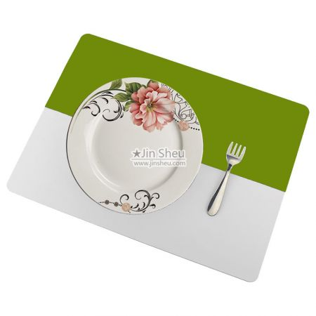 Personalized Silicone Placemats - silicone table mat