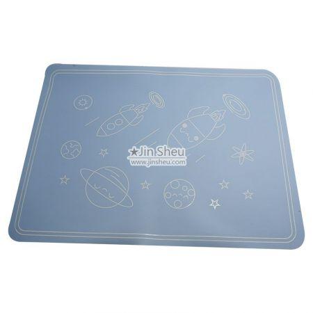 rectangular silicone placemats