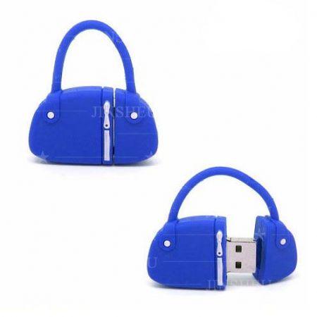 Custom Flash Drives - Handbag Bag Shaped USB Flash Drive Supplier
