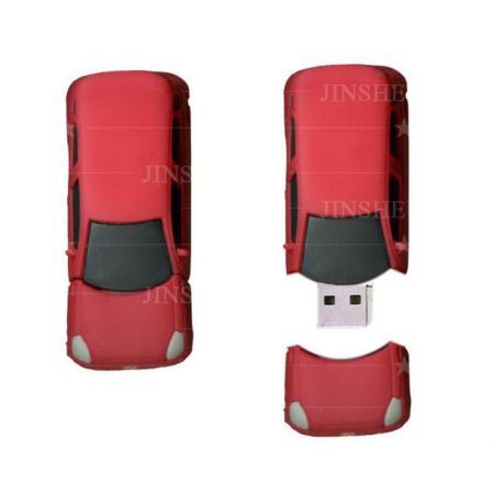 Custom 3D PVC Car Shaped USB Drive Gifts - Personalised USB Sticks Gift