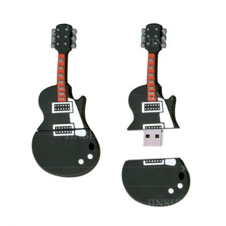 Guitar Shaped USB Memory Manufacturer - 3D USB