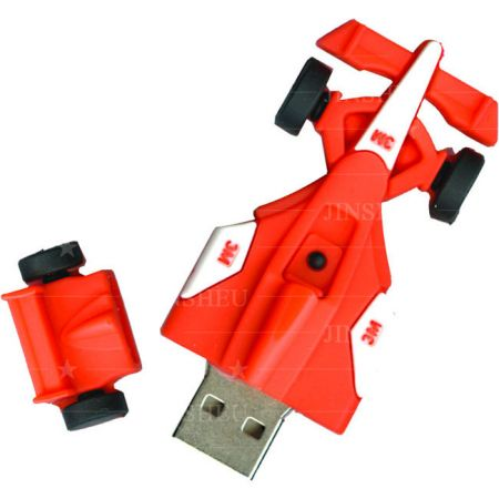 Red Racing Car USB Flash Drive Supplier - Custom USB flash drives