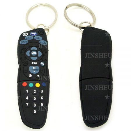Remote Designed PVC USB Flash Drive Supplier - Custom Soft PVC USB maker