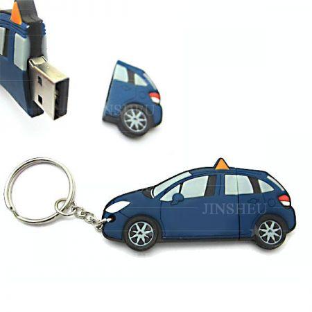 Soft PVC USB Flash Drive - Custom flash drives