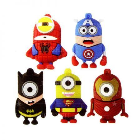 Promotional Superhero Flash Drives Manufacturer - OEM Superman Flash Drive Maker