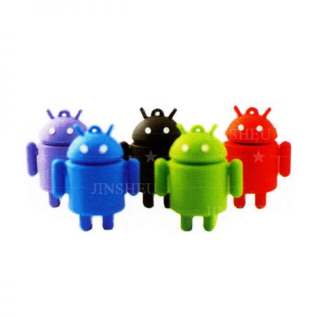 Bespoke Android Robot USB Drives - Souvenir USB