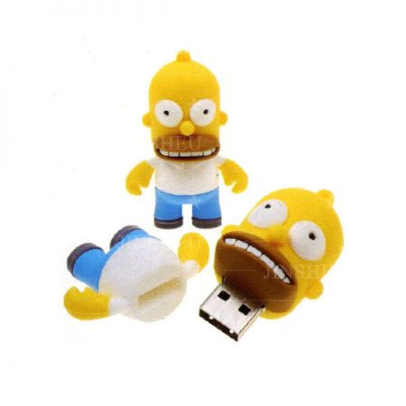 Personalized USB Flash Drive - The Simpson Family USB Flash Drive
