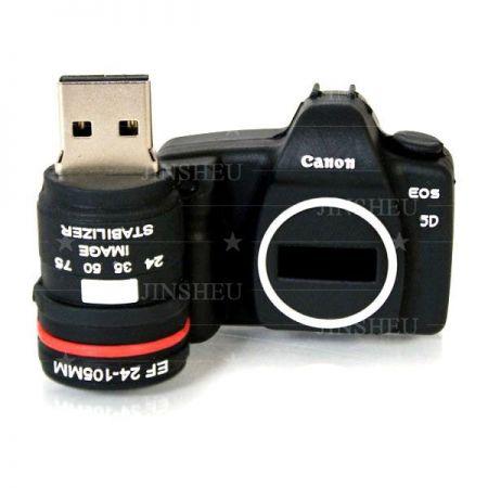Miniature DSLR Camera USB - Personalized logo USB