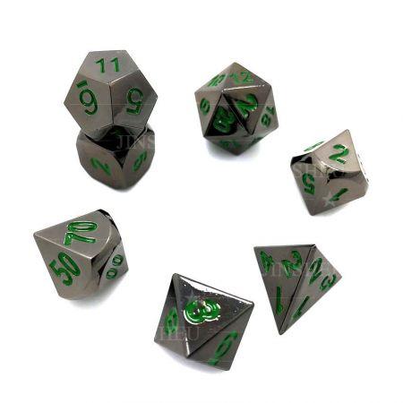 metal dice set