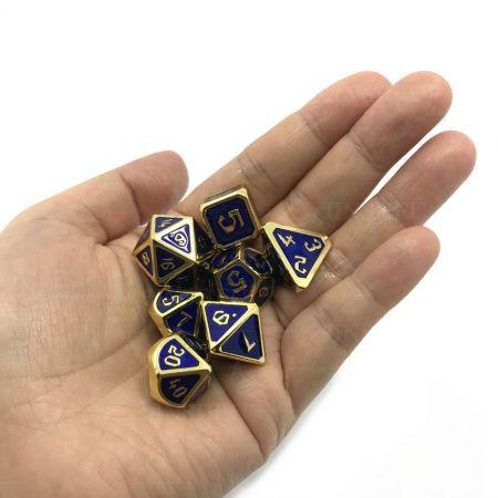 dnd metal dice