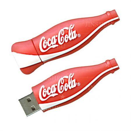 Coke Bottle Designed USB Flash Drive - Branded USB