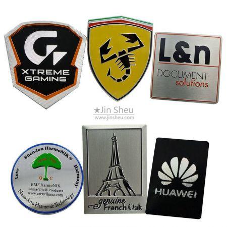 Metal Nameplates & Aluminum Name Plates - custom metal name plates