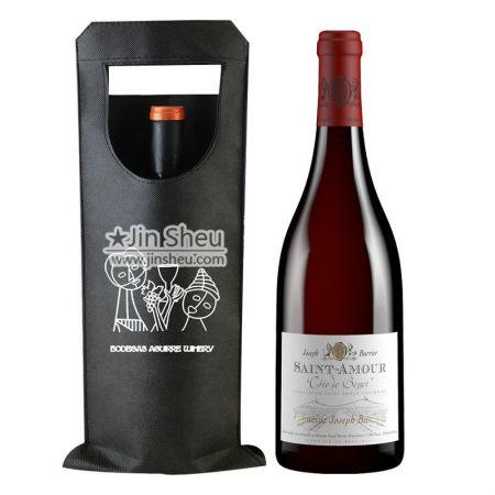 Non-woven Wine bottle carrier - Bottle Carrier Bag supplier