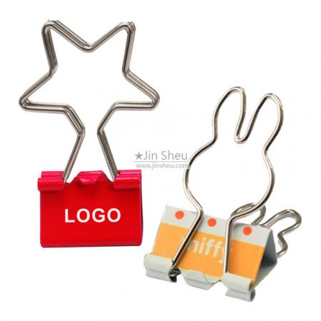 Custom LOGO Binder Clips - logo binder clips