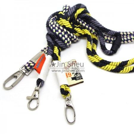 Cord Lanyards - Customized Rope Cord Lanyard