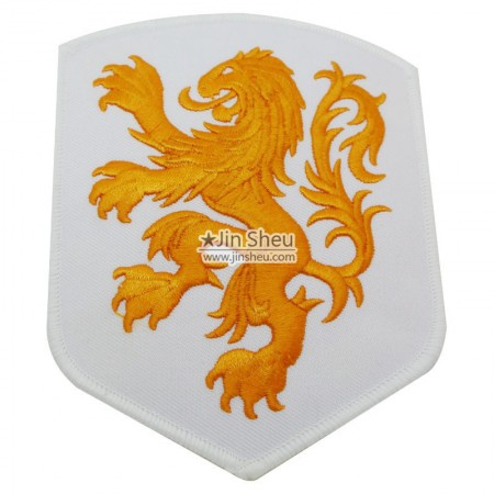 3D KNVB Embroidered Patch - Netherlands National Football Team KNVB FIFA Soccer Badge Embroidered Patch